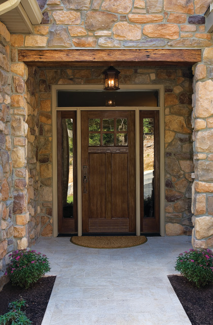 Classic Craft American Style Door Sidelites And Transom