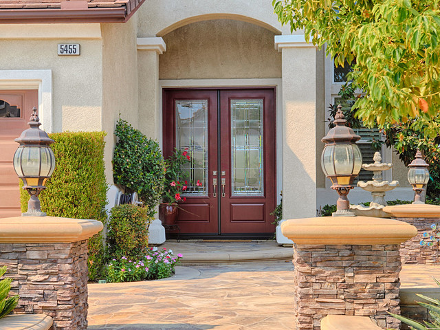 Classic Entry Door Design Ideas Traditional Entry Orange