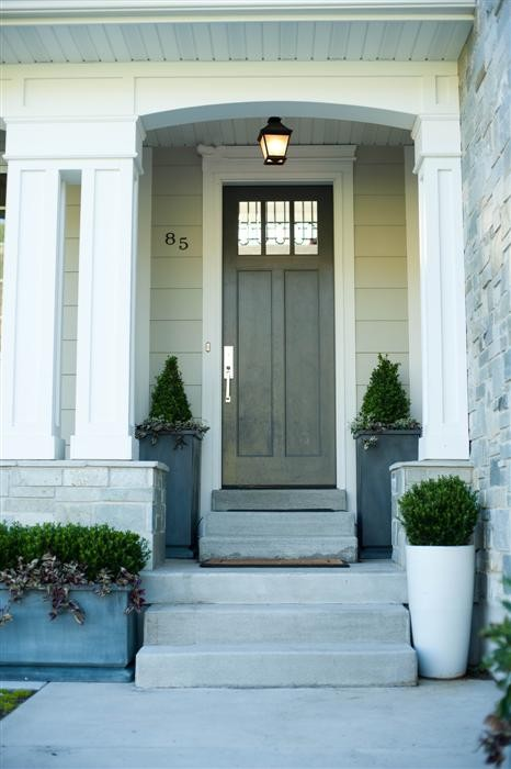 Where can i find the zinc planters for Lights for front door