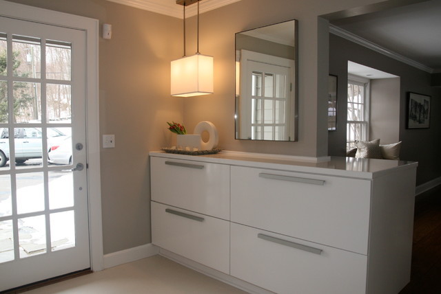 Clean Entry With Lots of Storage contemporary-entry