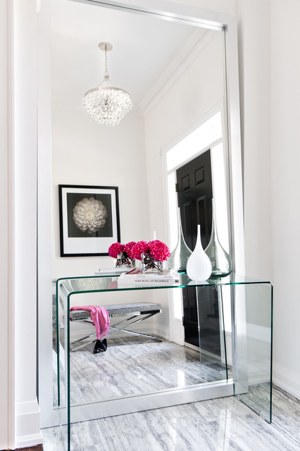 Small Foyer Ideas Houzz : Cole foyer contemporary entry toronto by jodie