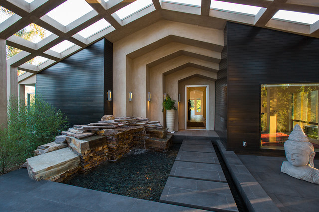 COLODNY DRIVE RESIDENCE Contemporary Entry