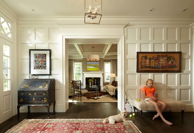 Farmhouse Foyer Hall : Colonial farmhouse traditional entry minneapolis by murphy