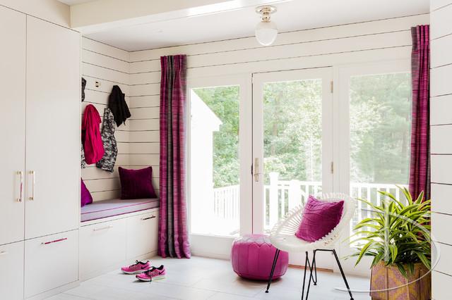 Daher Interior Design · Interior Designers U0026 Decorators. Color Pop  Contemporary Entrance