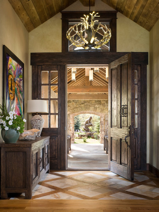 Ranch home entryway design ideas pictures remodel decor for Ranch home entryway design ideas