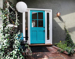 Colorful Cottage eclectic entry