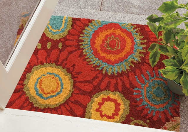 Contemporary Outdoor Patio Rugs : All Products  Outdoor  Outdoor Accessories  Outdoor Rugs