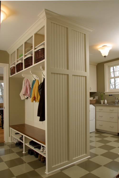 Dimensions of Mudroom and Laundry Room