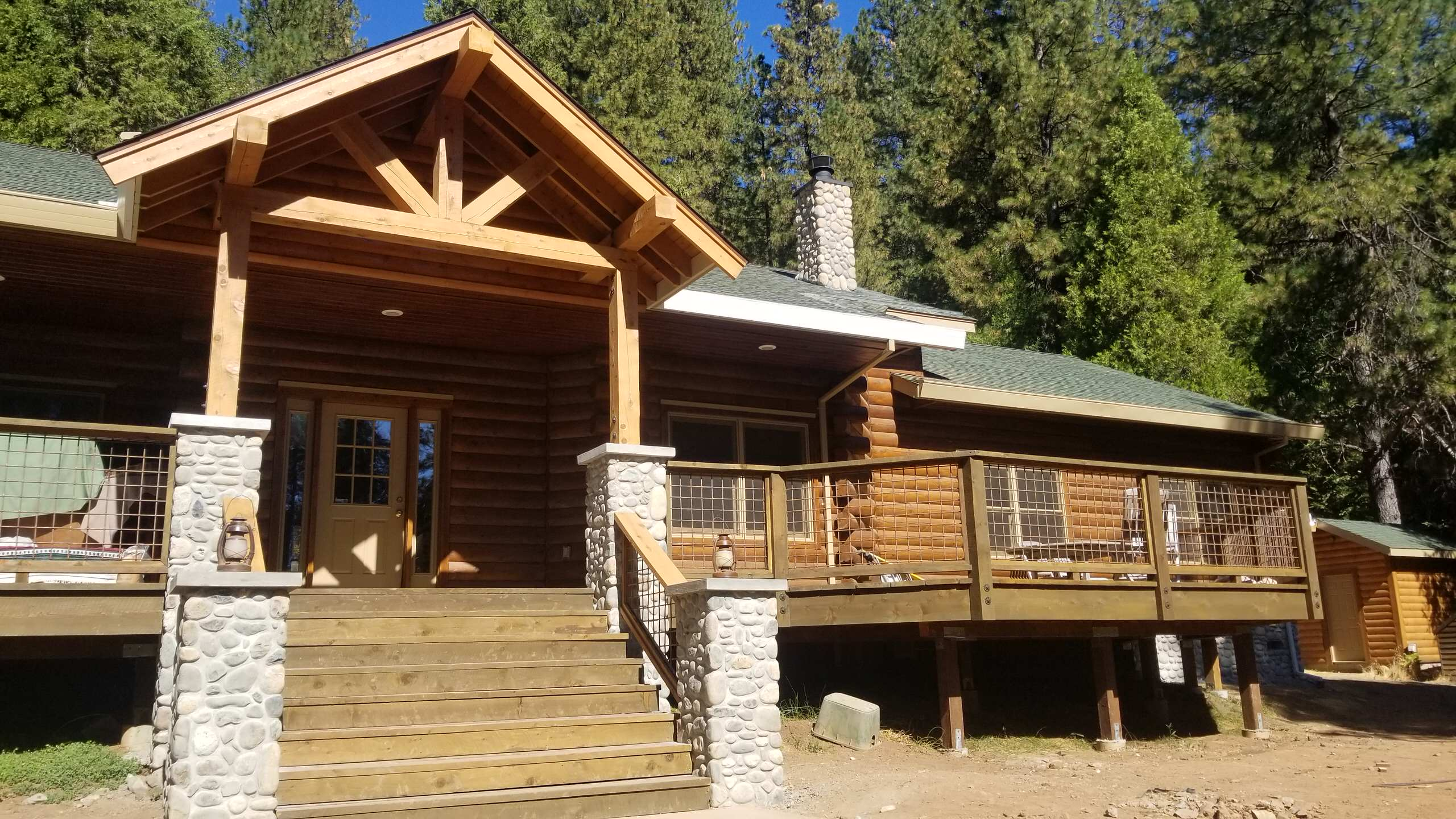 Complete remodel of log mountain home near Scotts Flat  Nevada City ,CA