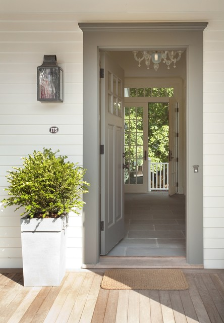 Concord Green Home traditional-entry