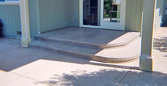 Concrete Steps traditional-entry