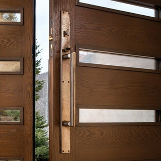 Contemporary Decorative Hardware By Rocky Mountain Hardware Contemporary Entry Chicago