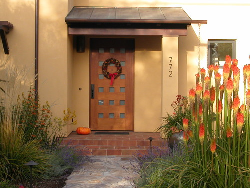 Contemporary entry door