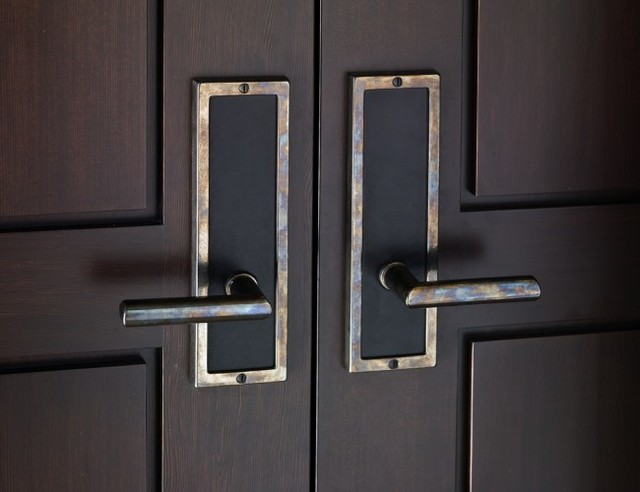 Contemporary Entry Door Hardware By Rocky Mountain Hardware ...