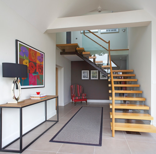 How to Make an Impact with a Contemporary Staircase