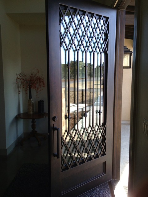 Contemporary Iron Door