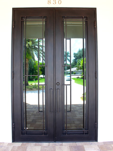 Contemporary Iron Doors Contemporary Entry Other