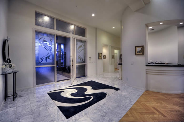Contemporary Luxury Home - contemporary - entry - phoenix - by ...