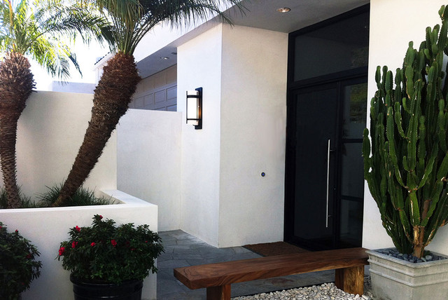 Contemporary Storefront Entry Glass Door System Smooth