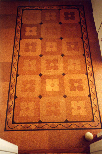 Cork Floor Traditional Entry Los Angeles By Crogan