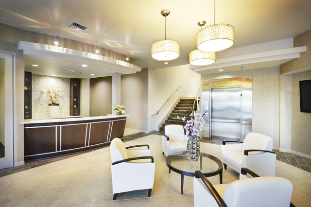 office lobby decor. Corporate Lobby By Shasta Smith Contemporary-entry Office Decor Houzz