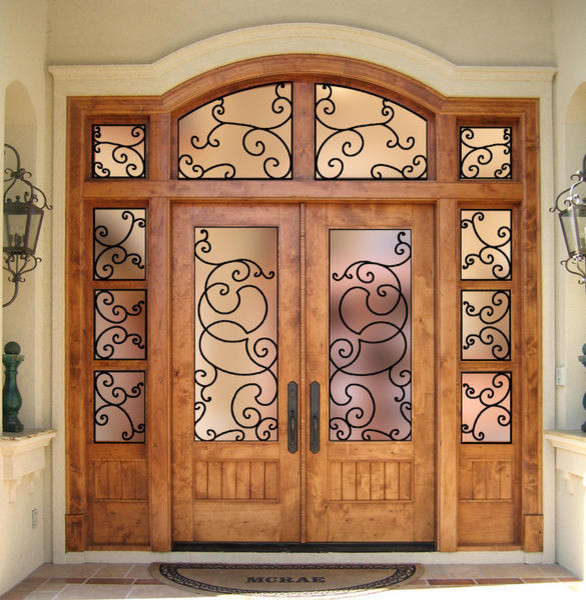 Country french doors mediterranean front doors other for French doors front entrance