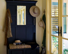 Country French Hallway - Robert Naik Photography rustic entry