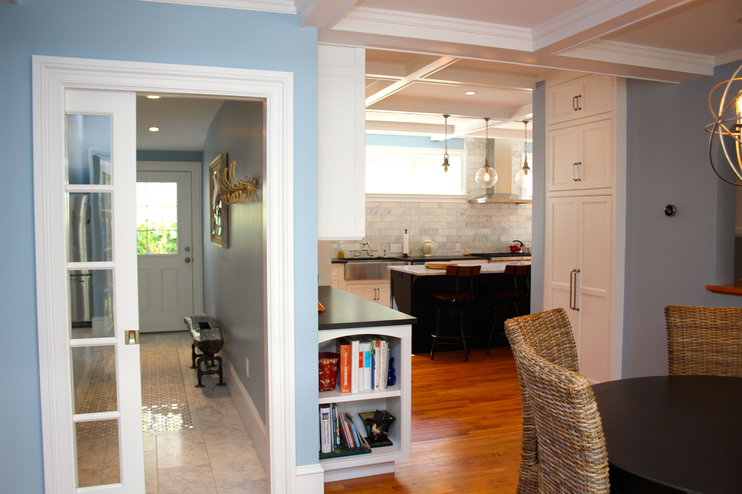 Country Home Kitchen and Entry Renovation