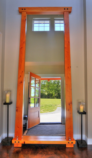 Country Residence contemporary-entry