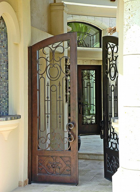 Courtyard Gates mediterranean-entry & Courtyard Gates - Mediterranean - Entry - Austin - by Cantera Doors