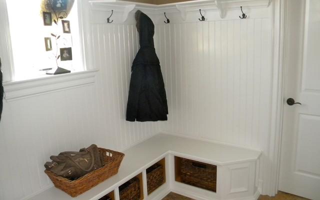 Cozy Mudroom Traditional Entry