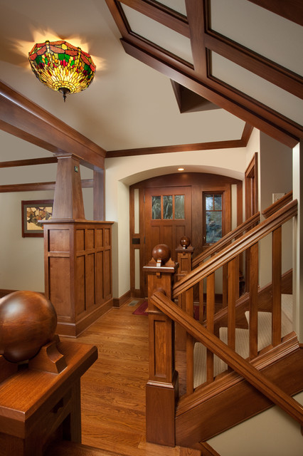 Craftsman Home traditional entry