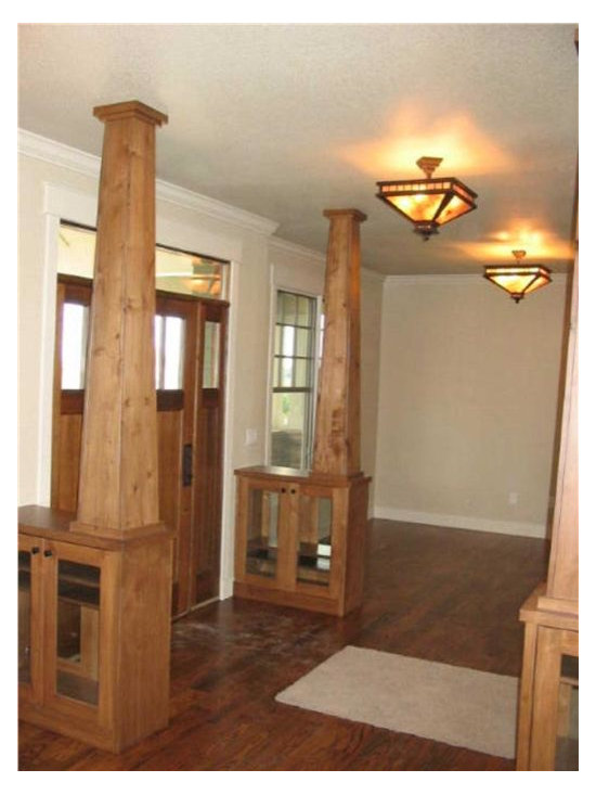 Craftsman Foyer Home Design Ideas Pictures Remodel And Decor