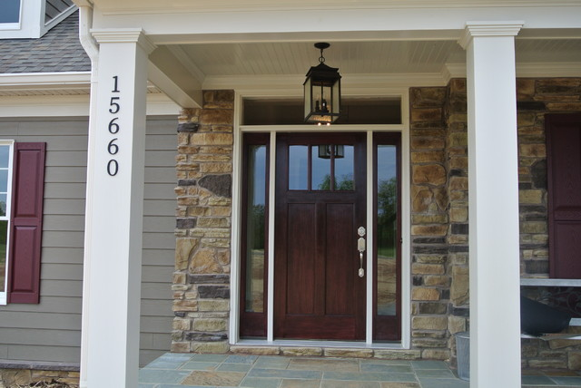 Craftsman Style Front Door Entry Dc Metro By Mike