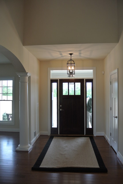 Front door entry right into living dining room kitchen for Front door enters into kitchen
