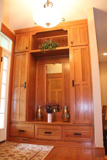 Craftsman Style Home craftsman-entry
