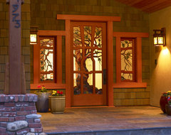 Craftsman Style traditional entry