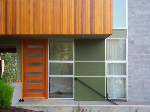 Crane Residence modern-entry