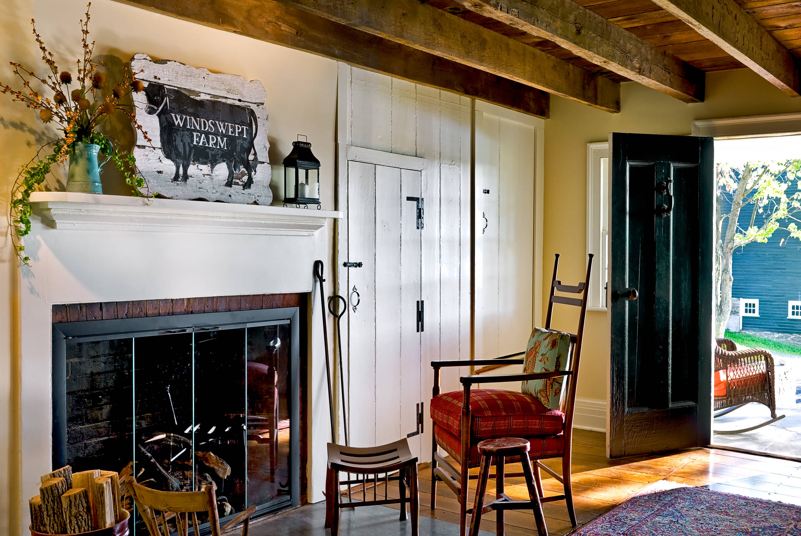 Country Fireplace Mantels Houzz