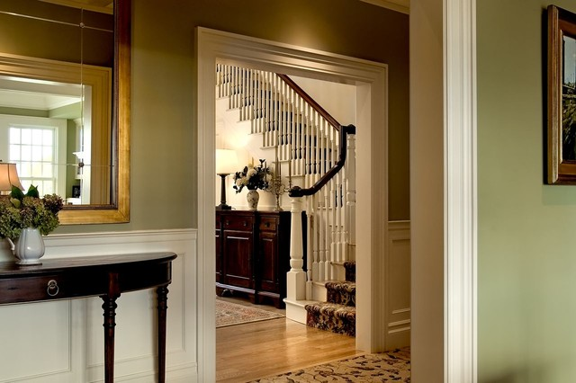 Houzz Foyer Paint Colors : Crisp architects traditional entry new york by
