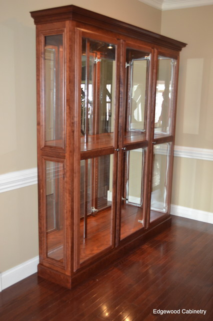 Curio - Traditional - Entry - Raleigh - by Edgewood Cabinetry