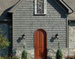 Custom Built Home eclectic-entry