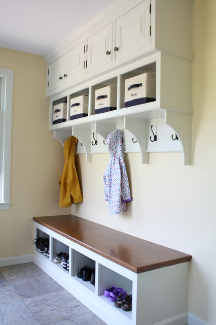 Custom Built-in Cabinetry traditional-entry