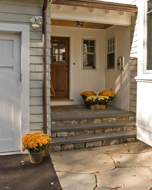 Custom Cape traditional-porch