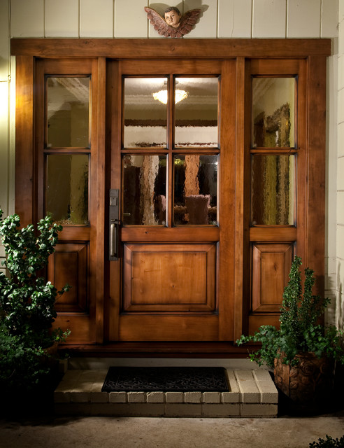 Custom doors traditional entry san francisco by for Small double front doors