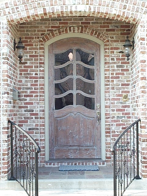 Custom Doors traditional-entry