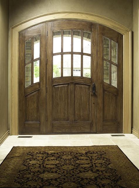 Custom Doors traditional-entry