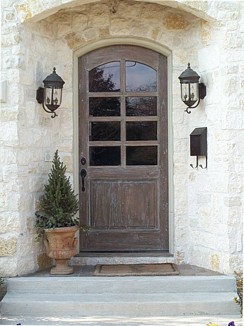Custom doors traditional entry oklahoma city by for French style front door