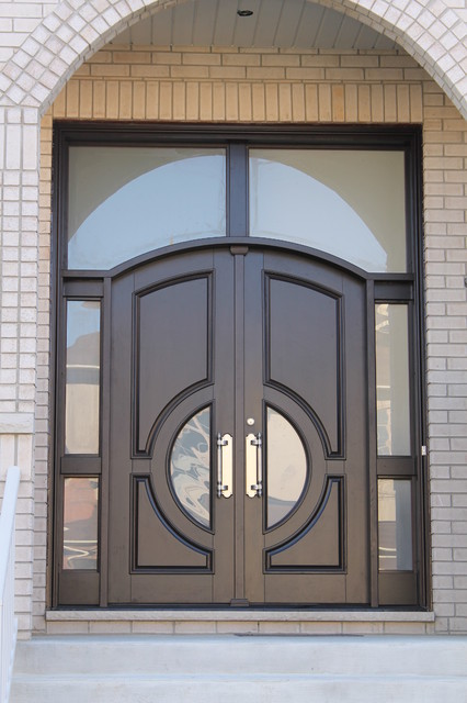 Custom entry doors eclectic entry toronto by casa for Custom exterior doors