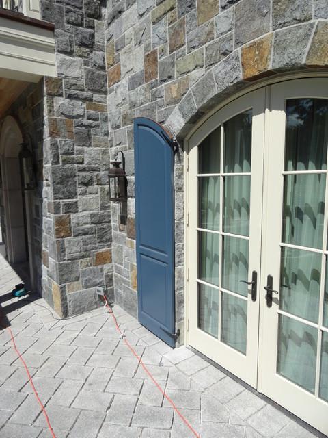 custom exterior shutter traditional entry denver by maxco innovative builders